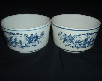 HAND PAINTED BOWLS made in holland
