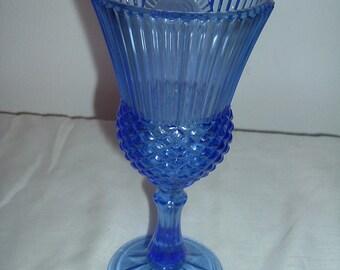 colbalt blue stemwarefrom avon