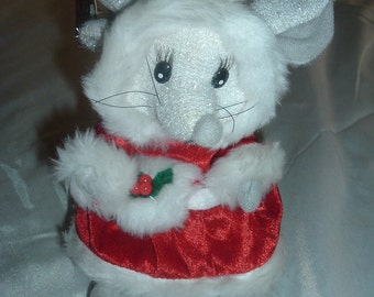 CYBER Monday, BLACK Friday, Christmas Sale, An Animated Christmas Mouse AND Bugs Bunny Plush Toy's