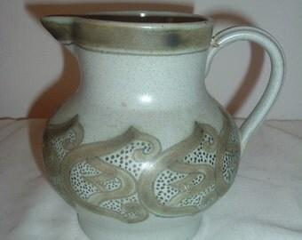 vintage Buchan Stoneware's pitcher