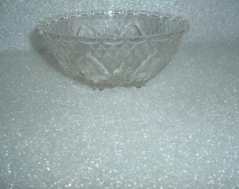 vintage glass kig  malaysia  bowl