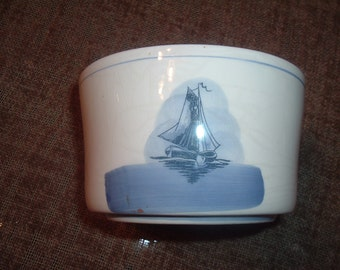 vintage porcelain bowl made in holand