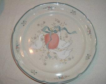 vintage international marmalade pattern 8688 international china company  dinner plate