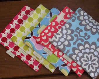 Two sandwich and one snack bag - Reusable sandwich bag - Reusable snack bag - Fabric sandwich bag - Create your own set
