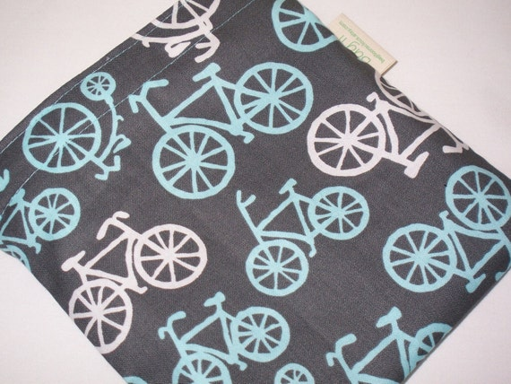 Reusable sandwich bag - One more for the bike lovers