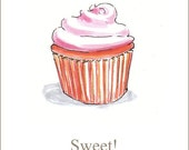Sweet  Cupcake Card to celebrate the happy stuff