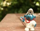 doctor smurf 1970s schleich figurine vintage