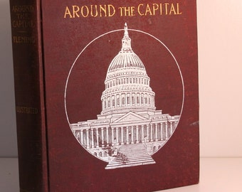 Around the Capital with Uncle Hank book 1902 vintage