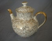 Gold Richard Ginori L.7 Teapot