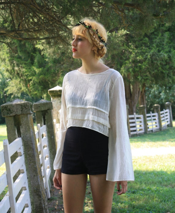 25% OFF SALE The Amparo Blouse in Organdy