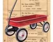 Wagon - Children's Picture Dictionary Gift Card