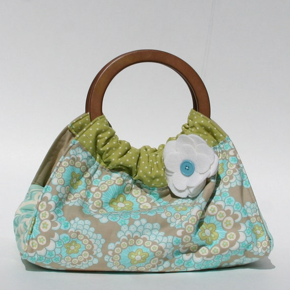 Turquoise and Green Dish and Casserole Carrier