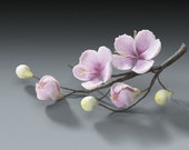 4 Sets of Cherry Blossom Flower Branches Gum Paste for Weddings and Cake Decorating - Ships Insured!
