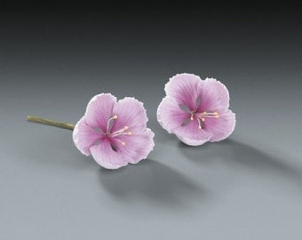 18ct Cherry Blossom Gum Paste Flowers for Weddings and Cake Decorating