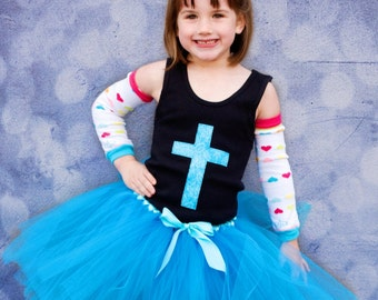 Turquoise Blue Tea Party Tutu