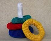 Ring Toss Game -  Crochet Pattern