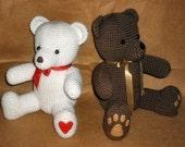 Crochet Teddy Bears - PDF Pattern