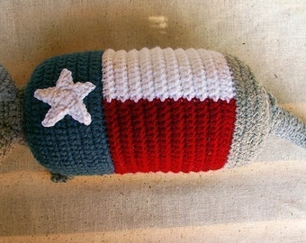 Lone Star Armadillo -  Crochet Pattern