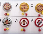TOP Only**Iowa State/Cyclones Badge Reel Tops  *PICK one*