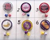 TOP Only**Minnesota Vikings and Minnesota Twins Badge Reel Tops  *PICK one*