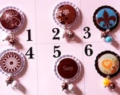 More Brown Interchangeable Badge Tops  *PICK ONE*