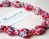 Handmade Bead Necklace in 'Wiltshire' by Liberty of London