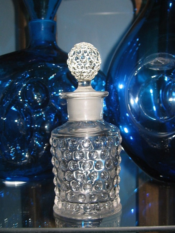 Vintage 1920's Hobnail Cologne or Perfume Bottle by IMPERIAL GLASS