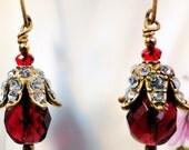 Ruby Slipper earrings
