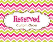 Reserved listing for Caitlinmacdonald1011