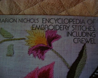DESTASH Vintage Encyclopedia of Embroidery Stitches,Including Crewel