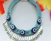 Necklace with TURKISH EYES