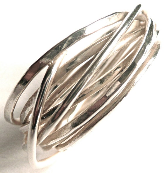 Sterling Silver Whirl Ring