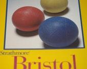 ATC / ACEO Blanks (50) ... Strathmore Vellum Bristol Art Cards Soft White Cards Art Supplies Heavyweight Cardstock Artist Supply Paper Goods