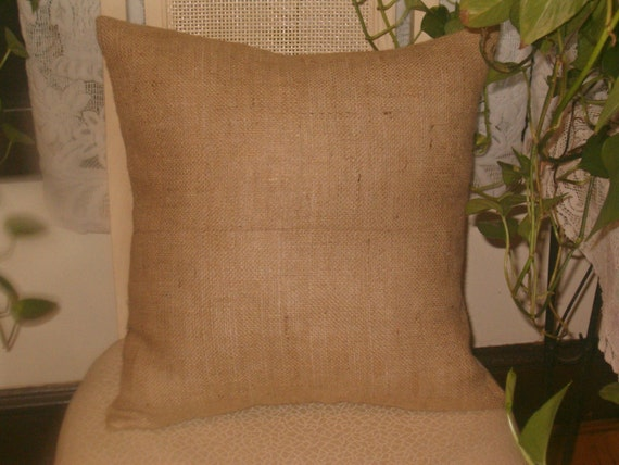 Lot Of 12 Burlap Pillow Covers Blanks For By Kirtamdesigns