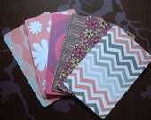 Pink Card set with Envelopes