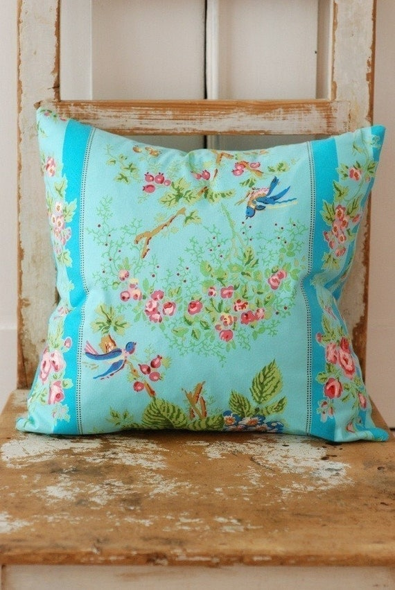 Shabby Chic Pillow Cover Decorative Pillows by KenilworthPlace