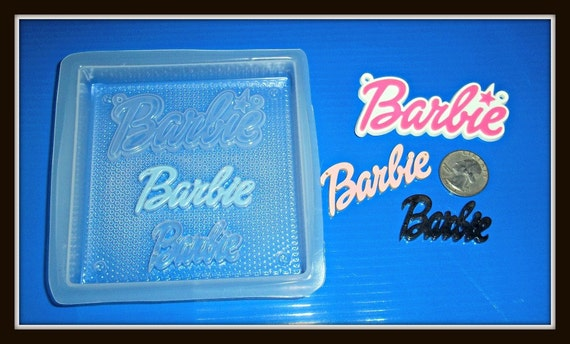 Flexible Plastic Handmade Resin Mold- Barbie Girl Mold No.2