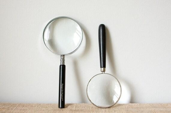 Magnifying Glasses-Mid Century Pair