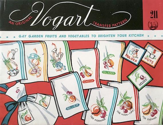 Vogart Transfer Pattern 211 (Fruits and Veggies)