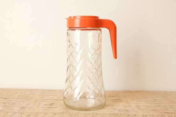 Vintage Tang Pitcher by Anchor Hocking