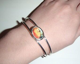 SALE Flaming June cuff bracelet SALE