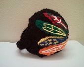 Baby Blackhawk Helmet, NHL BLackhawks baby Shower