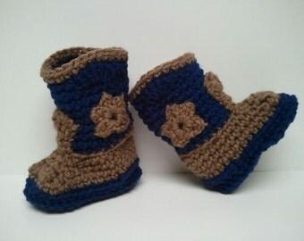 Cowboy boots, Cowgirl boots, Star Cowboy boots, Denim Cowboy Boots