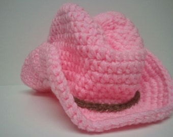 Pink Cowgirl hat, Pink Cowboy Hat, Country Pink hat