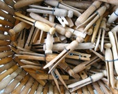 100 Vintage Variety Group of Clothespins