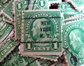 100 Vintage Postage Stamps Destash