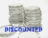 CLEARANCE 30 Glass Wafers - Second Rate