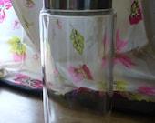 Vintage Glass Apothecary Jar