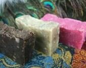 SOAP SET: 3 Exotic Fragrance Shea Butter Luxury Soaps