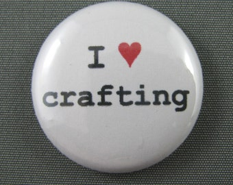 I heart crafting pinpack button
